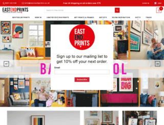 eastendprints.com screenshot