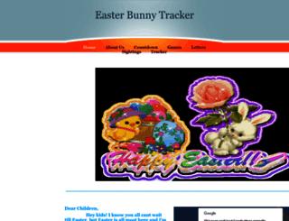 easterbunnytracker.yolasite.com screenshot