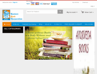 easternbookcorporation.com screenshot