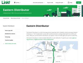 easterndistributor.com screenshot