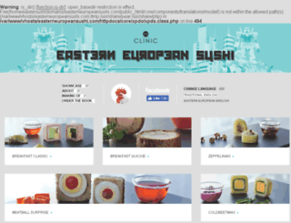 easterneuropeansushi.com screenshot