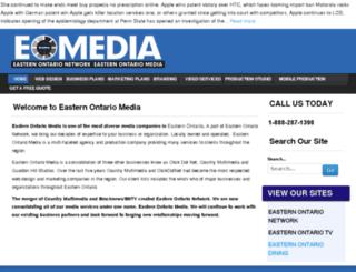 easternontariomedia.com screenshot