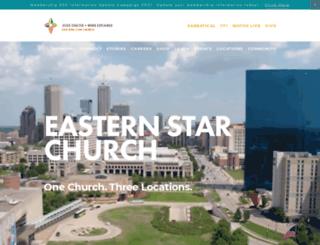 easternstarchurch.org screenshot