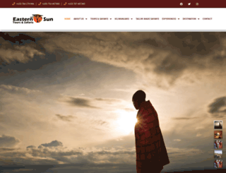 easternsuntours-safaris.com screenshot