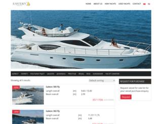 easternyachts.com screenshot