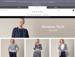 eastex.co.uk screenshot