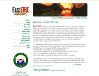 eastfire.gmu.edu screenshot
