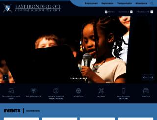 eastiron.org screenshot