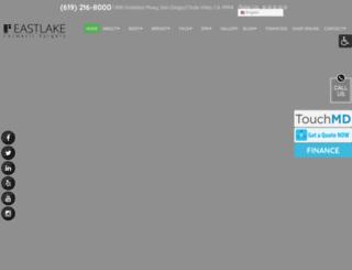 eastlakecosmeticsurgery.com screenshot