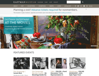 eastman.org screenshot