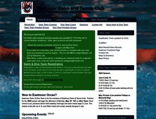 eastmoor.swimtopia.com screenshot