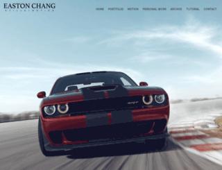 eastonchang.com screenshot