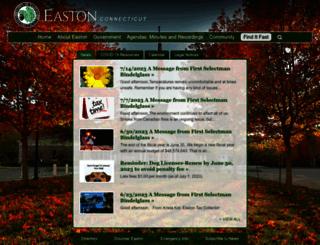 eastonct.gov screenshot