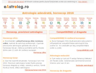 eastrolog.ro screenshot