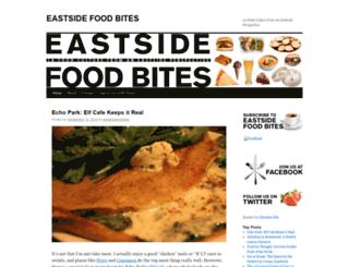 eastsidefoodbites.wordpress.com screenshot
