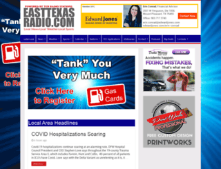 easttexasradio.com screenshot