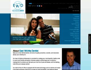eastwichitadentist.com screenshot
