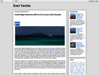 eastyachts.blogspot.com screenshot