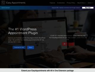 easy-appointments.net screenshot