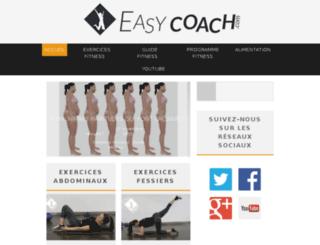 easy-coach.com screenshot