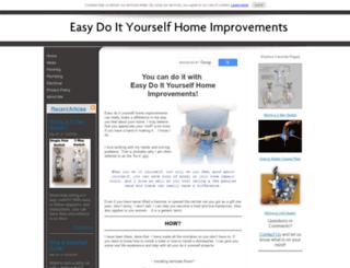 easy-do-it-yourself-home-improvements.com screenshot
