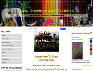 easy-drawings-and-sketches.com screenshot