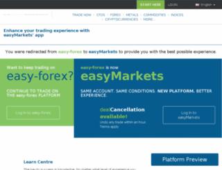 easy-forex.com screenshot
