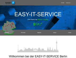 easy-it-service.de screenshot