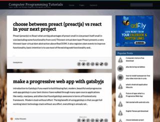 easy-programming-in-urdu.blogspot.in screenshot