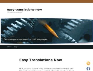 easy-translations-now.com screenshot