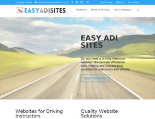 easyadisites.co.uk screenshot