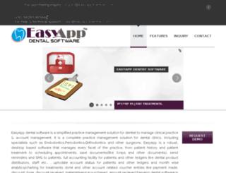 easyapp4dentist.com screenshot