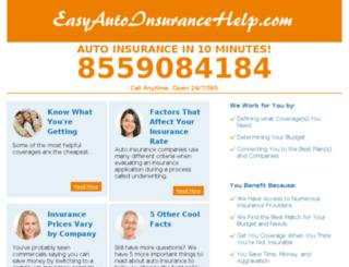 easyautoinsurancehelp.com screenshot