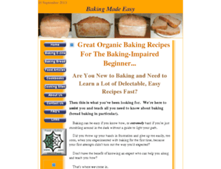 easybakingtips.com screenshot