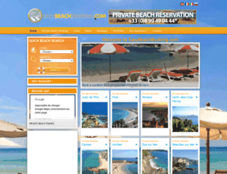 easybeachbooking.com screenshot