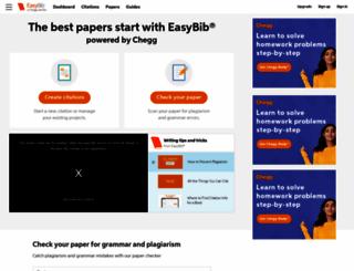 easybib.com screenshot