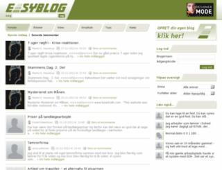 easyblog.dk screenshot