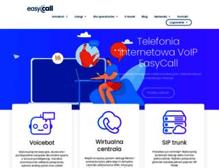 easycall.pl screenshot
