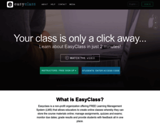 easyclass.com screenshot
