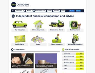 easycompare.com screenshot