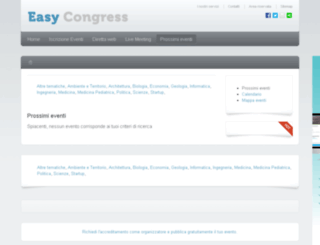easycongress.info screenshot