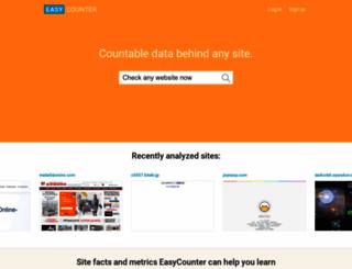 easycounter.com screenshot