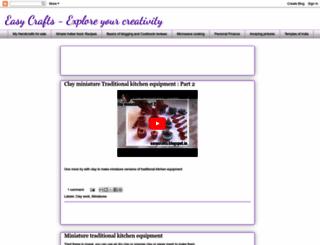 easycrafts.blogspot.com screenshot