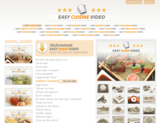 easycuisinevideo.com screenshot