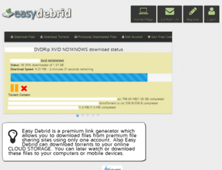 easydebrid.com screenshot