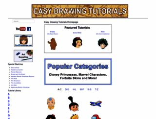 easydrawingtutorials.com screenshot