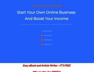 easyebookwriter.com screenshot