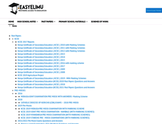 easyelimu.com screenshot