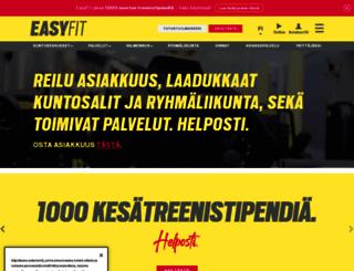 easyfit.fi screenshot