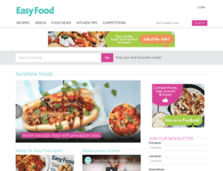 easyfood.ie screenshot